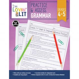 Practice & Assess: Grammar Workbook, Grade 4-5