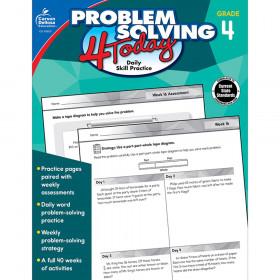 Problem Solving 4 Today Workbook, Grade 4