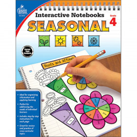 Interactive Notebooks: Seasonal Resource Book, Grade 4