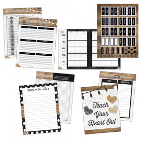 Industrial Chic Teacher Planner Plan Book