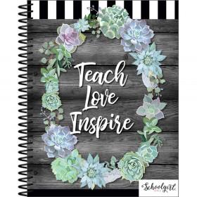 Simply Stylish Teacher Planner Plan Book