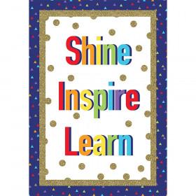 Sparkle + Shine Shine Inspire Learn Poster