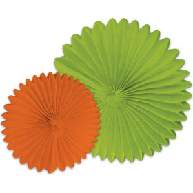 Orange And Lime Fans
