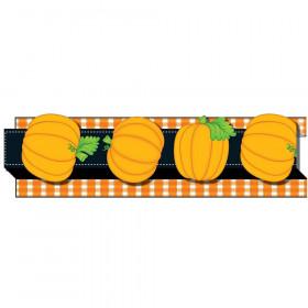 Pumpkins Straight Borders