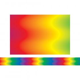Rainbow Wave Border