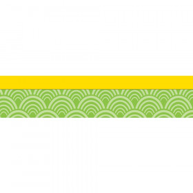 Lemon Lime Straight Borders