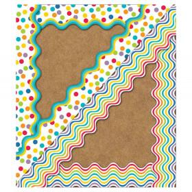 Color Me Bright Scalloped Borders, 39'