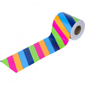 Colorful Stripes Rolled Straight Border