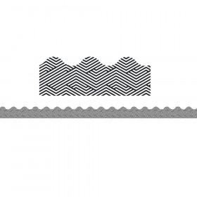 Maze Scalloped Borders, 39'