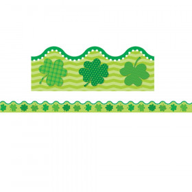 St. Patrick's Day Scalloped Border, 39'