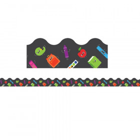 Ready for School Scalloped Borders, 39'