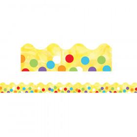 Confetti Scalloped Border