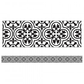 Simply Stylish Tile Straight Border, 36'