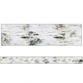 Woodland Whimsy Birch Tree Straight Border, 36'