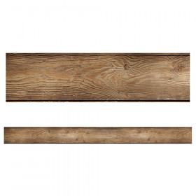 Woodland Whimsy Wood Grain Straight Border, 36'