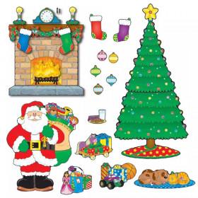 Christmas Scene Bulletin Board Set