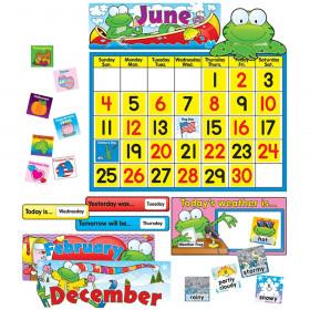 Frog Calendar Set Bulletin Board Set