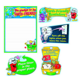 Earth-Friendly Reminders Bulletin Board Set