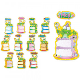 Frog Birthday Bulletin Board Set
