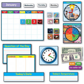 Morning Meeting Solution Bulletin Board Set, Grades 1 - 2