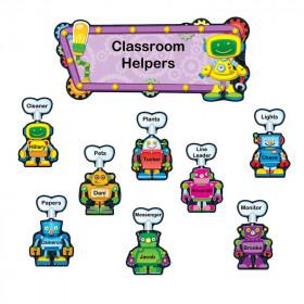 Robots Job Assignment Bulletin Board Set