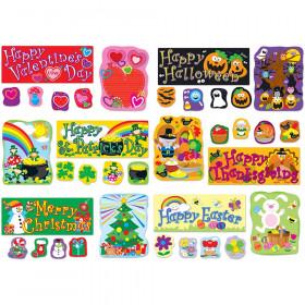 Holidays Bulletin Board Set