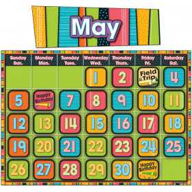 Stylin Stripes Calendar Calendar