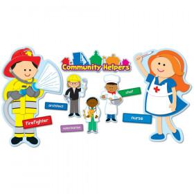 Community Helpers Bulletin Board Set