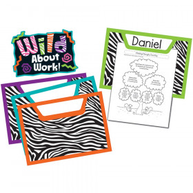 Wild Style Work! Bulletin Board Set