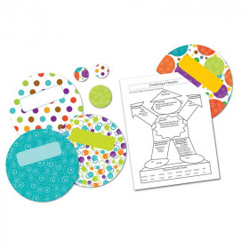 Calypso Dots Bulletin Board Set
