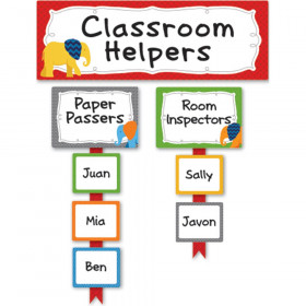 Parade of Elephants Classroom Management Bulletin Board Set