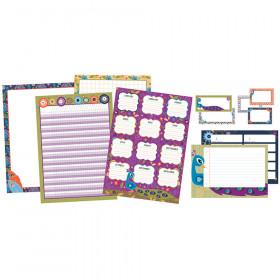You-Nique Classroom Organizers Bulletin Board Set