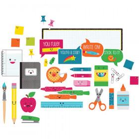 School Pop School Tools Mini Bulletin Board Set