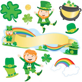 St. Patrick's Day Mini Bulletin Board Set