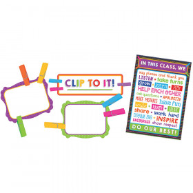 Clip Chart Classroom Management Bulletin Board Set