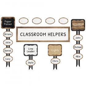 Industrial Chic Job Assignment Mini Bulletin Board Set