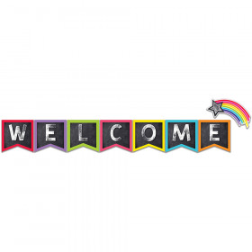 Stars Welcome Bulletin Board Set School Girl Style