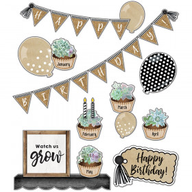 Simply Stylish Birthday Bulletin Board Set
