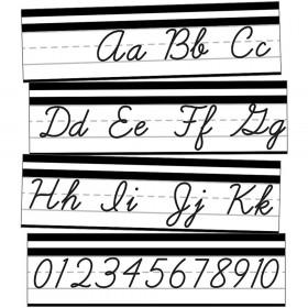 Alphabet Line Cursive Mini Bb St Simply Stylish