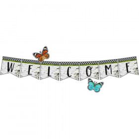Welcome Bulletin Board Set Woodland Whimsy