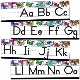 Alphabet Line Manuscript Mini Bb St Woodland Whimsy