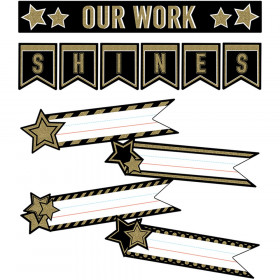 Sparkle + Shine Super Star Student Work Mini Bulletin Board Set