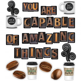 Industrial Cafe You Are Capable of Amazing Things Bulletin Board Set