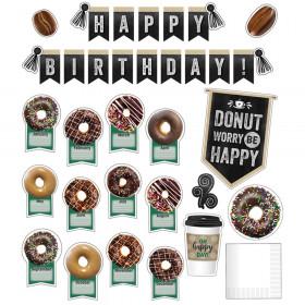 Industrial Cafe Birthday Bulletin Board Set