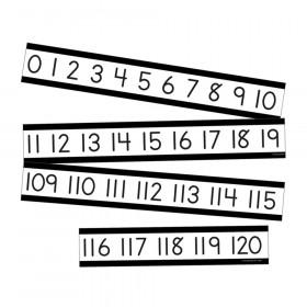 Simply Boho Number Line Mini Bulletin Board Set