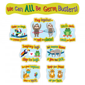 One World Germ Busters Bulletin Board Set