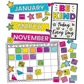 Kind Vibes Calendar Bulletin Board Set