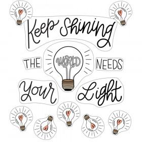 Simply Stylish Keep Shining Bulletin Board Set