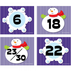 Snowflake/Snowman Calendar Cover-Up