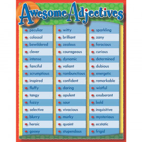 Awesome Adjectives Chartlet